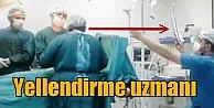Devlet hastanesinde klimalar bozulunca: Yelpazeli ameliyat
