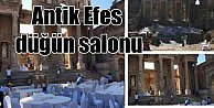 Efes Antik Kent Düğün iddiasına bakanlıktan yalanlama geldi
