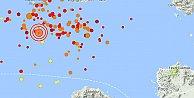 Ege'de deprem,4.2 ile sallandı