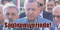 Erdoğan#039;ın sağlık durumu; Bayram Namazı sırasında rahatsızlandı