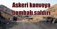 Erzincan#039;da askeri konvoya bombalı saldırı