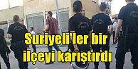 Erzurum#039;da Suriyeli#039;ler ile vatandaşlar arasında kavga