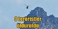 Helikopter düşüren teröristler öldürüldü