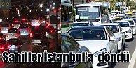 İstanbul trafiği tatil bölgelerine sıçradı: Çile erken başladı