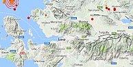 Son Depremler, Karaburun Foça açıklarında deprem