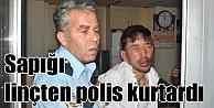 Konya#039;da Afgan kökenli tacizciyi linçten polis kurtardı