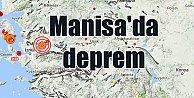 Manisa#039;da deprem; Önce İzmir, Sonra Manisa sallandı
