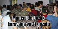 Manisa'da son durum; Birliklere güvenilir karvana dağıtıldı