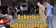 Manisa'da yemekten zehirlenen askerler taburcu ediliyor