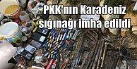 PKK#039;nın Karadeniz sığınakları Giresun#039;da bulundu