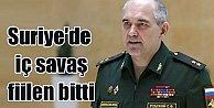 Suriye#039;de son durum; İç savaş fiilen bitti