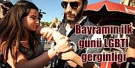 Taksim#039;de Bayramın ilk günü LGBT rezaleti