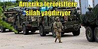 Amerika PKK#039;ya 195 TIR dolusu silah gönderdi