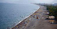 Antalya sahillerini görmeye milyonlar geliyor