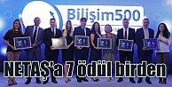 Bilişim 500den Netaşa 7 ödül