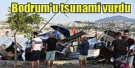 Bodrum#039;da deprem; Depremden sonra Tsunami vurdu