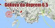 Bodrum#039;da deprem; Gökova 6.5 ile sallandı