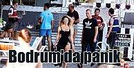Bodrum'da kulübe silahlı saldırı; Jandarma önlem aldı
