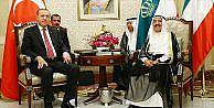 Cumhurbaşkanı Erdoğan ile Kuveyt Emiri Sabah bir araya geldi