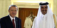Cumhurbaşkanı Erdoğan Katar Emiri Al Sani'yle görüştü