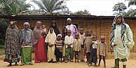 Kamerunda Müslüman Pigmeler