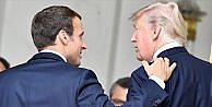 Macron ile Trump 'küresel ısınma'da ayrı düştü