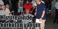Manisa Huzurevinde yangın çıktı: Yaşlılar ölümden döndü