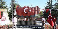 SDÜ'ye 15 Temmuz Şehitler Anıtı