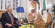 Suudi Arabistan Kralı Selman, ABD Dışişleri Bakanını kabul etti