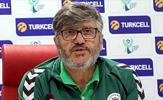 Atiker Konyaspor Teknik Direktörü Akçay'dan UEFA Avrupa Ligi yorumu