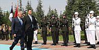 Başbakan Yıldırım Estonyalı mevkidaşını resmi törenle karşıladı