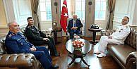 Başbakan Yıldırım kuvvet komutanlarını kabul etti