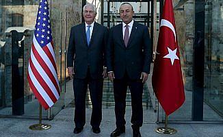 Çavuşoğlu, Amerikalı mevkidaşı Tillerson ile telefonda görüştü