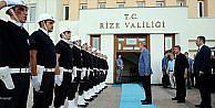 Cumhurbaşkanı Erdoğan Rize Valiliğini ziyaret etti