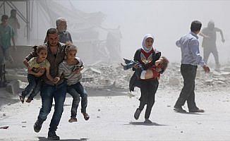 Esed güçleri Doğu Guta'da çocukları vurdu