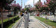 Hac hayaline kavuşacak Ganalı Abdullah, İstanbul'a geldi
