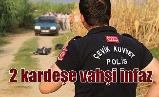 İki kardeşe pompalı tüfekle infaz: Aydın'da şok saldırı