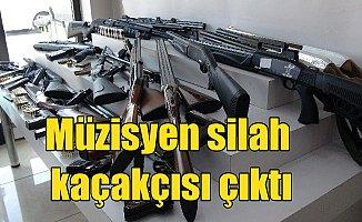 Müzisyen silah kaçakçısı çıktı: İstanbul'da silah operasyonu
