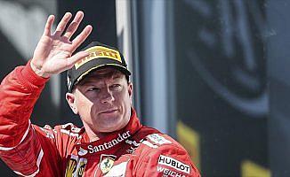 Raikkonen, 2018'de de Ferrari'de