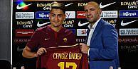 Roma'da forma giyen milli futbolcu Cengiz: Roma'da birçok kupa kaldırmak istiyorum