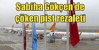 Sabiha Gökçen#039;de pist krizi; Uçaklar Bursa#039;ya zorunlu iniş yaptı
