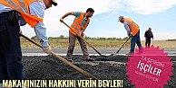 Taşeron işçiler isyan ediyor