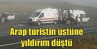 Trabzon#039;da yıldırım düştü, Arap turist hayatını kaybetti