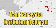 Van Saray#039;da deprem; Sabaha karşı 4.4 ile sallandı