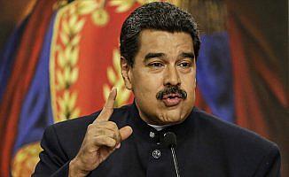 Venezuela Devlet Başkanı Maduro: Amerika'dan Venezuela'ya operasyon tehdidi savruluyor