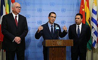 Venezuela Dışişleri Bakanı Arreaza: ABD ülkemizde insani kriz çıkarmayı amaçlıyor