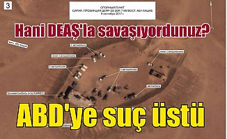 Amerika Suriye'de suç üstü yakalandı: DEAŞ'e el sallamadıkları kaldı