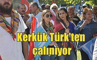 Ankara'da Kerkük Mitingi: Kerkük Türk'ten çalınıyor