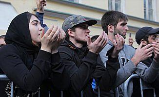 Arakan'daki katliam Rusya'da protesto edildi