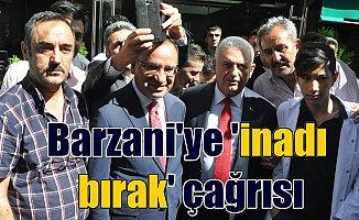 Başbakan Yıldırım'dan Barzani'ye çağrı; Bu inattan vazgeç